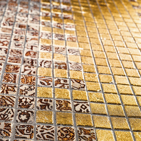 Full Gold 10 Mosaic by Petra Antiqua srl