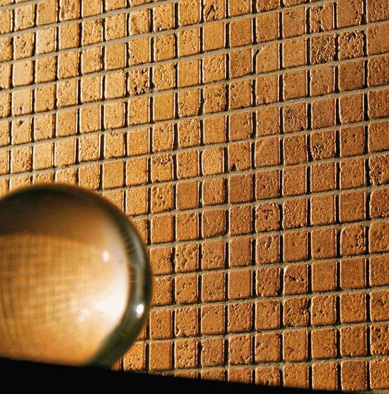 Full Gold Bronzed 10 Mosaic de Petra Antiqua srl