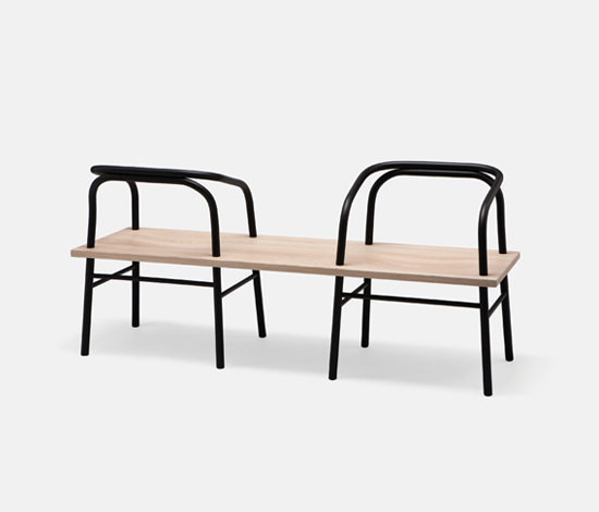 Table, Bench, Chair von Established&Sons