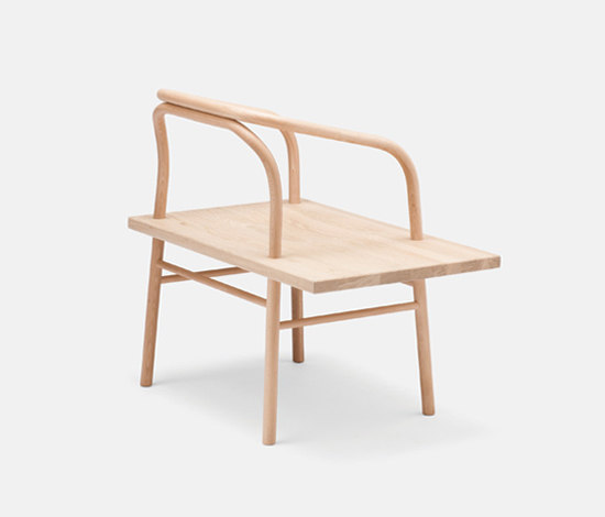 Table, Bench, Chair by Established&Sons