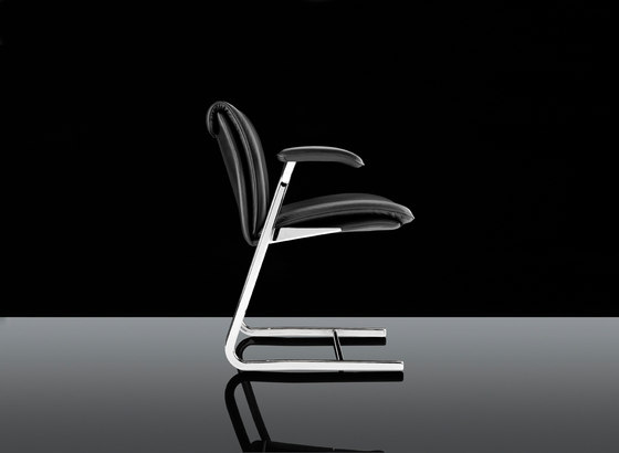 Delphi High Back, non arm Visitor Chair by Boss Design