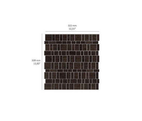 Mini Brick - Wood di Kuups Design International