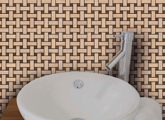 Plaited - Woodmix by Kuups Design International