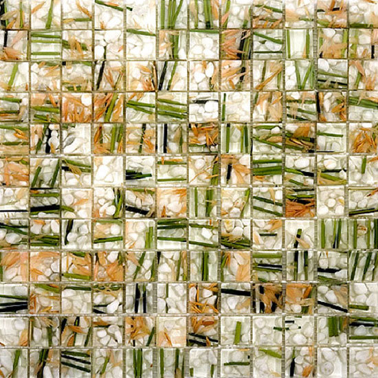 Natural Decor Bamboo Mosaic By Archeo Ceramica Product