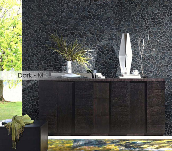 Beachstone Dia S Green de Mosaic Miro Production