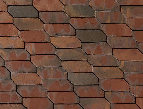 Borkum 3-D paving bricks de A·K·A Ziegelgruppe