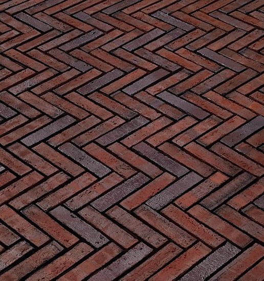 Ameland paving bricks di A·K·A Ziegelgruppe