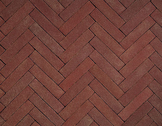 Terra Rossa paving bricks by A·K·A Ziegelgruppe