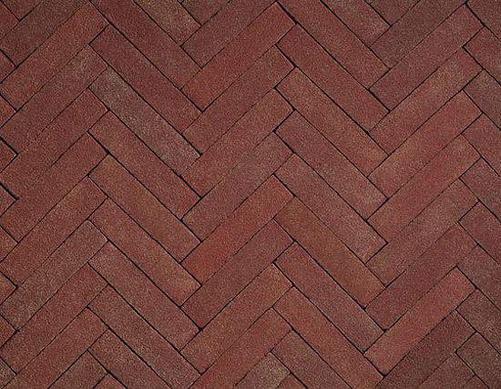 Terra Rossa paving bricks de A·K·A Ziegelgruppe