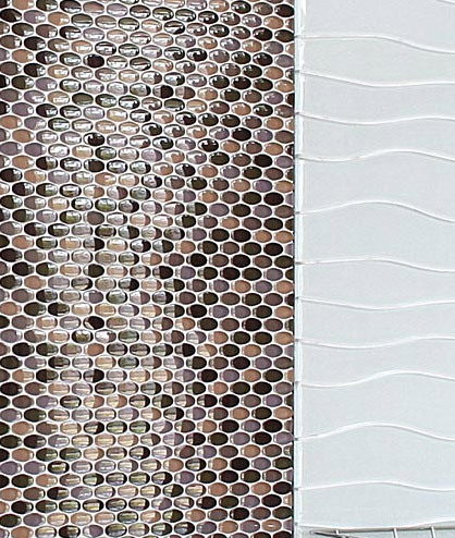 Oval Glass Mosaic M05 de EVIT