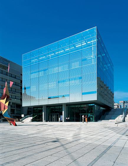 Museum of art Stuttgart, Germany di Wicona