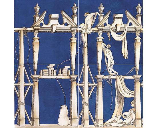 La casa degli efebi von ceramica bardelli produkt - Piastrelle gio ponti ...