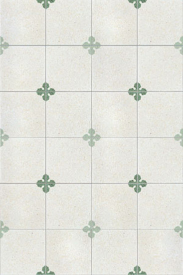 Due Gemelli terrazzo tile by MIPA