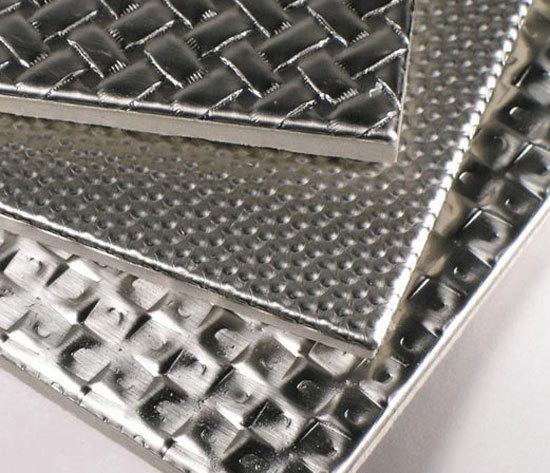 Copper Satin Rigi-Tile® by Rigidized Metals Comp