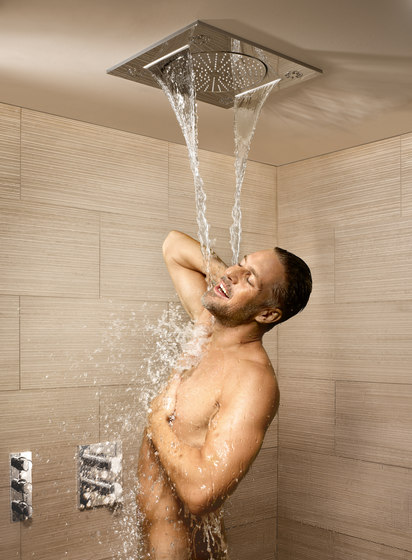 rainshower f series by grohe side shower 5 head. Black Bedroom Furniture Sets. Home Design Ideas