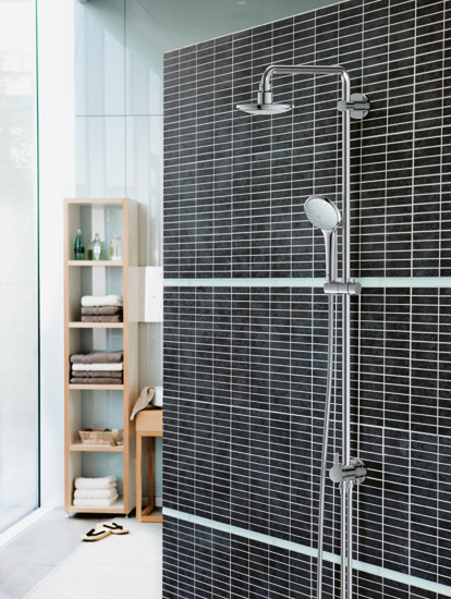 GROHE Shower Systems | Rainshower® Icon Shower system for wall mounting by GROHE