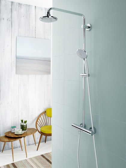 GROHE Shower Systems | Euphoria Shower system for wall mounting by GROHE