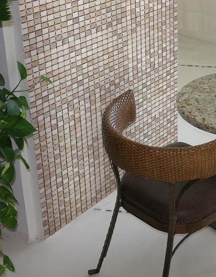 Petra Cervino mosaic by vitrogres