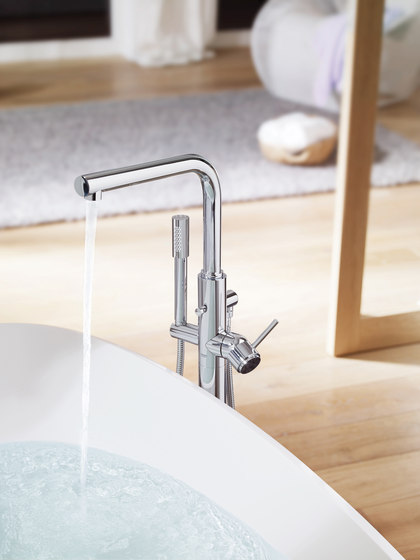 "Atrio One-hole basin mixer 1/2"" XL-Size cross handle by GROHE"
