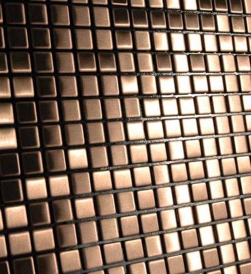 Glomesh Brass Tiles by Alloy