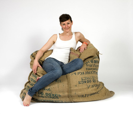 Coffee Fellow Bean Bag de Green Furniture Concept