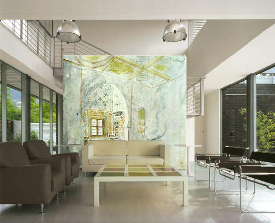 Tela palace alcove von tela design produkt for Raumteiler stoff