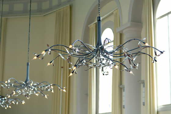Ruban Plié Chandelier round by Jacco Maris