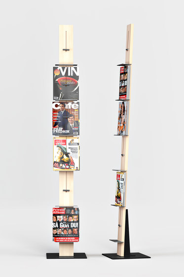 Post Freestanding Display Rack von Lillian Öberg