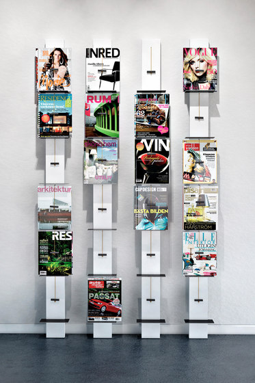 Post Wall Mounted Display Rack by Lillian Öberg