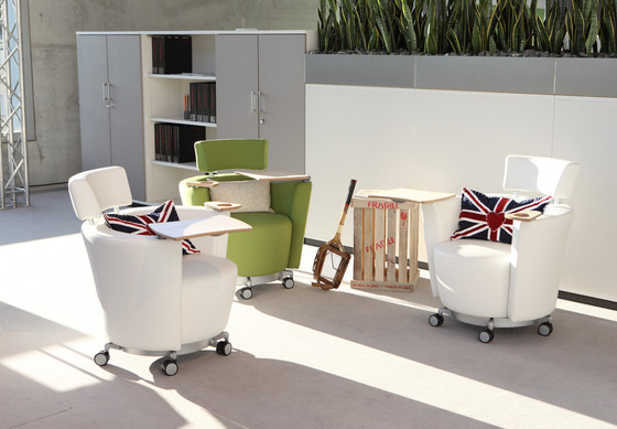 Hello by haworth lounge chair product for Creative interior designs by lynda