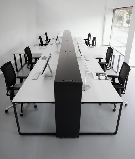 K22 desk by Haworth