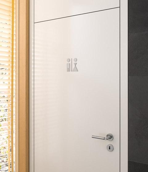 Piktogramm WC-Schild Jungen by PHOS Design