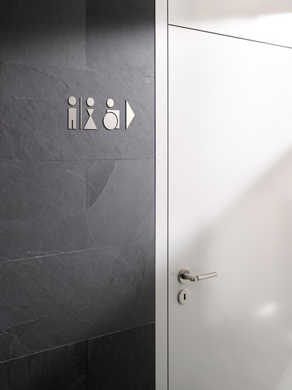 Piktogramm WC Mädchen by PHOS Design