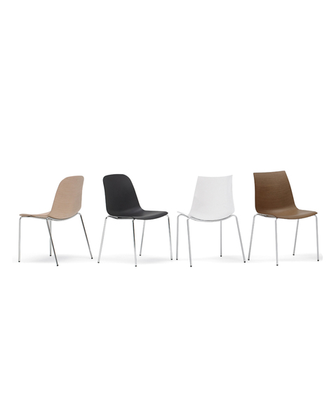 3D-Chair 781 LW* di PEDRALI