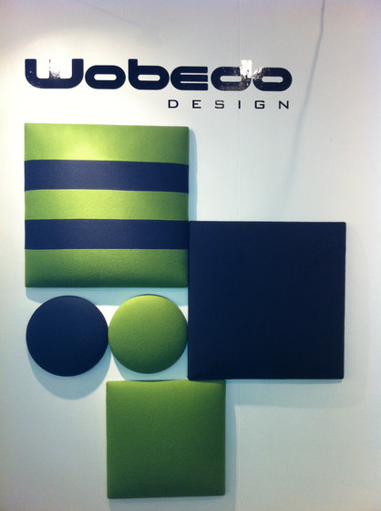 Squarebubbles® Square Stripe 1 by Wobedo Design