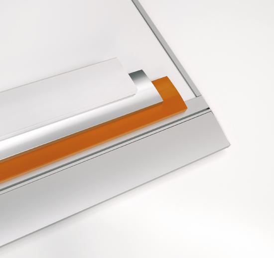 """Z 720 Whiteboard """"Zénit"""" enamelled steel by Planning Sisplamo"""