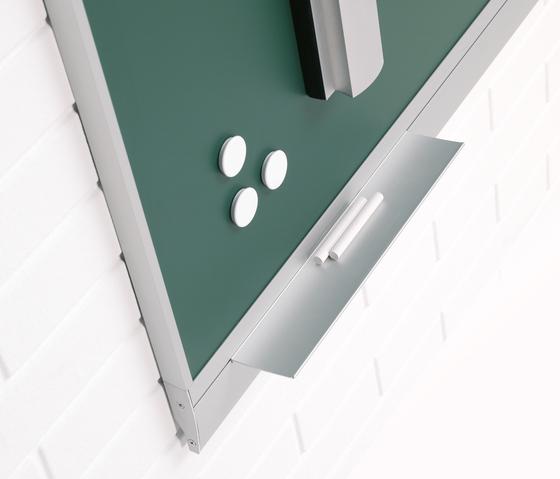"""Z 730 Chalkboard """"Zénit"""" enamelled steel by Planning Sisplamo"""