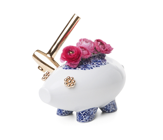 The Killing of the Piggy Bank by moooi