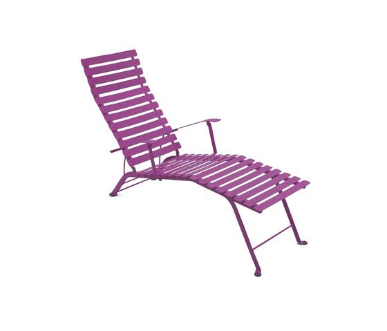 Liegest hle garten lounge bistro liegestuhl fermob for Bistro chaise longue