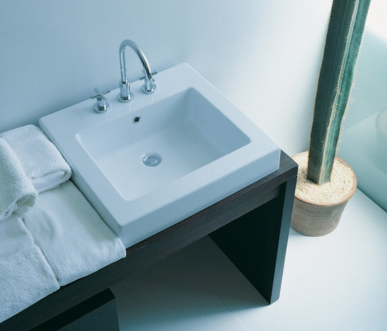 Acquagrande 100 basin by Ceramica Flaminia