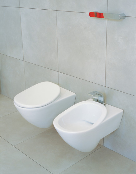 IO wc | bidet by Ceramica Flaminia
