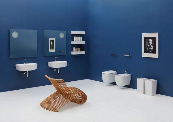 Mono 74 basin by Ceramica Flaminia