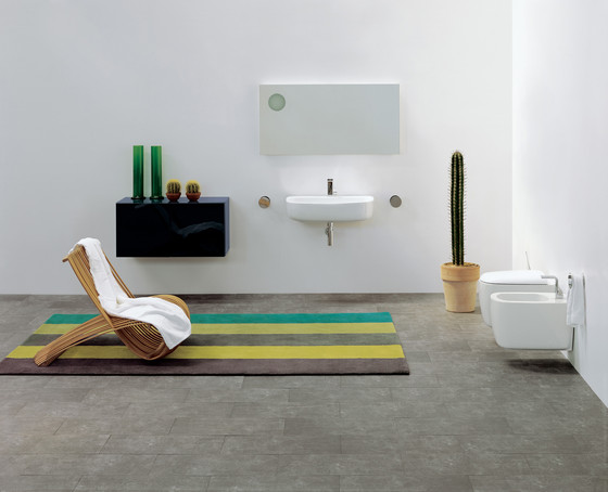 Mono 54 basin by Ceramica Flaminia