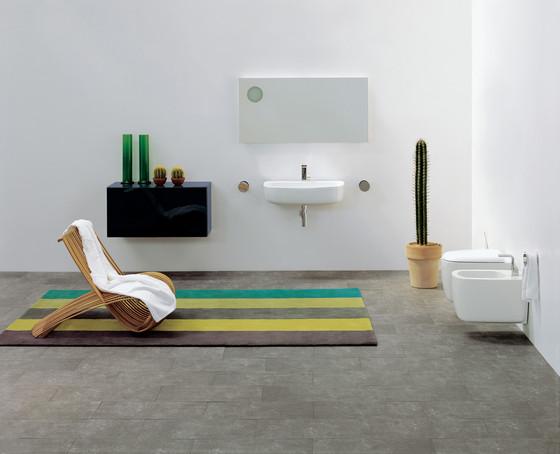 Mono di ceramica flaminia mono vaso bidet mono 100 - Galvan mobili bagno ...