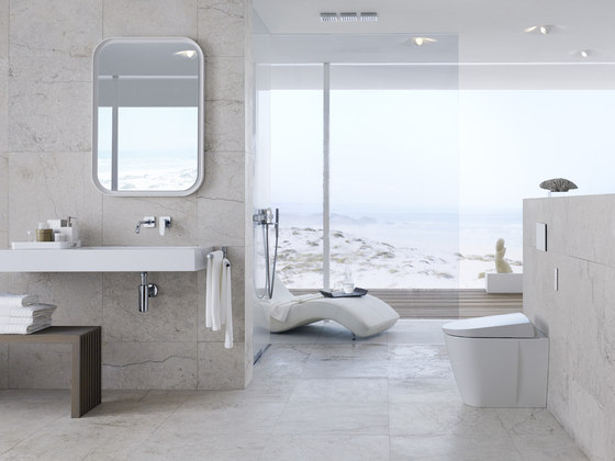 geberit aquaclean sela water spray toilets from geberit architonic. Black Bedroom Furniture Sets. Home Design Ideas