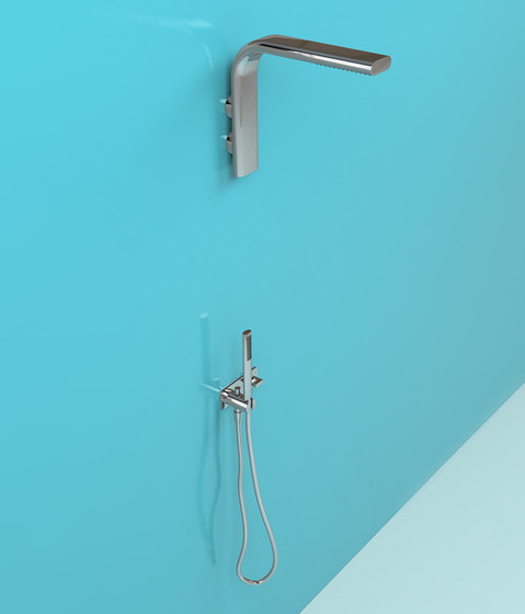 Noke' towel holder by Ceramica Flaminia