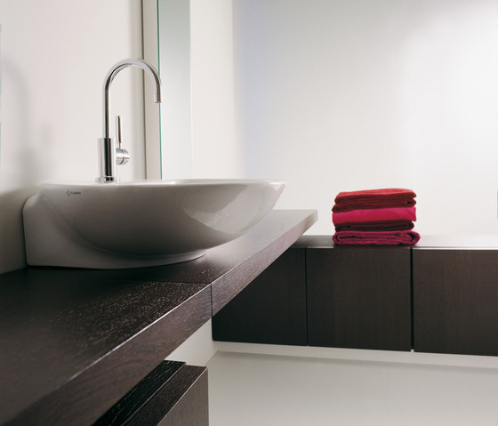 Nuda 85 basin by Ceramica Flaminia