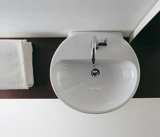 Nuda di ceramica flaminia 85 lavabo 95 lavabo 60 for Flaminia lavabi