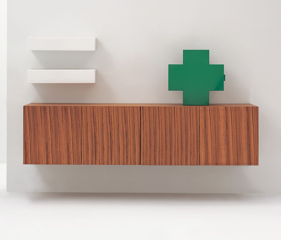 Simple cabinet by Ceramica Flaminia
