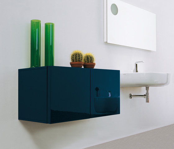Simple 70 I 90 mirror by Ceramica Flaminia